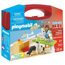 Playmobil City Life Small Vet Carry Case
