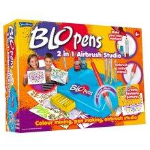 BLO Pens 2 In 1 Airbrush Studio