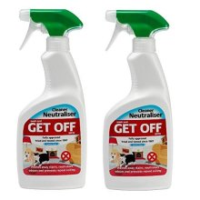 Rosewood Get Off Cat & Dog Fouling Remover -  Cleaner Neutraliser 500ml (Indoor and Outdoor)