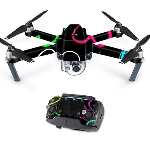 MightySkins DJMAVPRO-Hearts Skin Decal Wrap for DJI Mavic Pro Quadcopter Drone Cover Sticker - Hearts