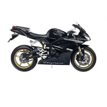 Triumph 675 Daytona 1:10 Diecast Motorcycle Model Black