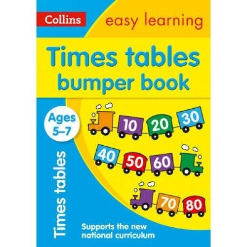 Collins Easy Learning Ks1: Times Tables Bumper Book Ages 5-7
