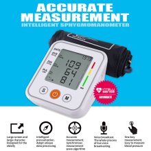 Electronic Voice Blood Pressure Meter Household Arm Type Monitor