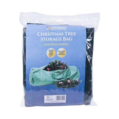 The Christmas Workshop 142x72cm Christmas Tree Storage Bag, Green