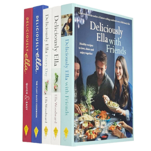 Deliciously Ella Collection By Ella Mills 5 Books Set