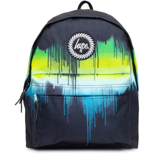 Hype Single Drips Backpack Bag Black