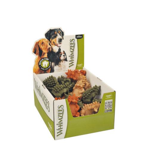 Whimzees Natural Dental Sticks Chew Dog Treats, Hedgehog - Large Box Of 30