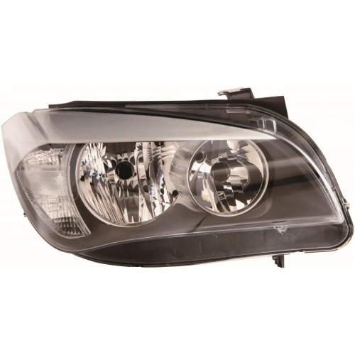 Bmw X1 E84 2009-9/2012 Headlight Headlamp Black Inner Drivers Side O/s