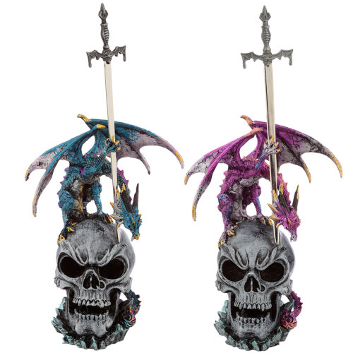 Sword Master Dark Legends Dragon Figurine