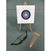 Home and garden compound archery set