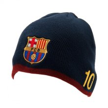 FC Barcelona Unisex Adults Messi Knitted Hat