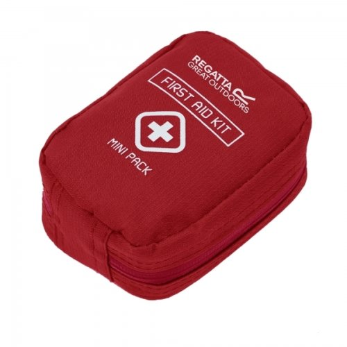 Regatta 22 Piece First Aid Kit For Camping, Hiking and Backpacking Red