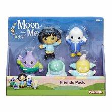 Moon & Me Playskool Moon and Me Friends Pack of 5 Figures