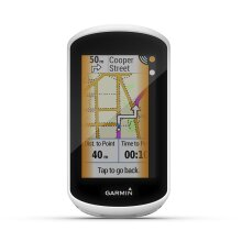 Edge Explore Touchscreen Touring Bike Computer with Connected Features, White