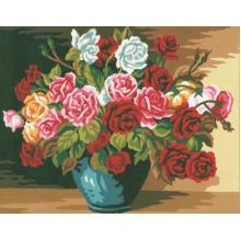 Tapestry Kit: Bowl of Roses