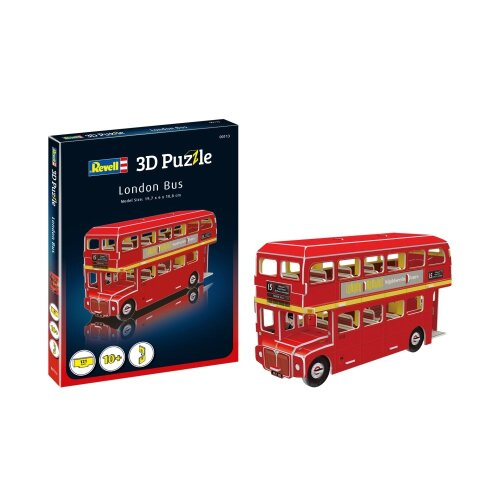 RV00113 - Revell 3D Puzzle - London Bus