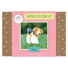 Simply Make Needle Felting Kit Terrier Dog