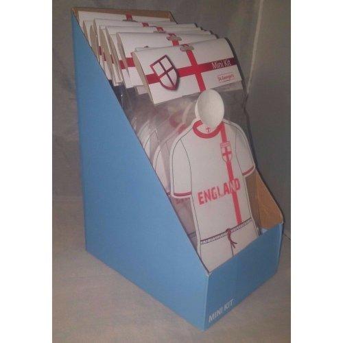 14 x England Mini Kits Car Window Hanger Accessory - In Display Box