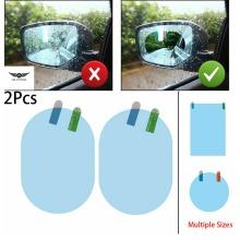 Car Rearview Mirror Film Rainproof Anti-Fog Hydrophobic Protective Sticker