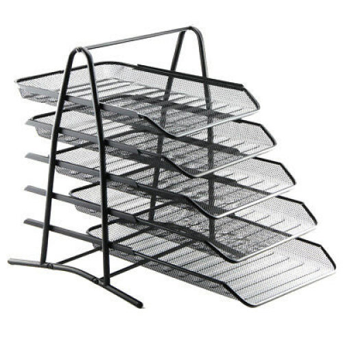 Tiered Mesh Letter Tray