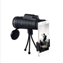 High Definition Monocular Telescope, 40x60 High Power Monocular with Smartphone Holder & Tripod