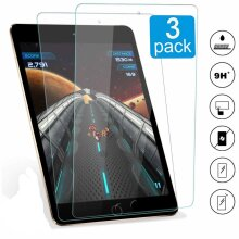 (3 Pack) Anti Fingerprint Anti Shatter 9H Ultra Clear Tempered Gorilla Glass HD Display Screen Protector For Apple iPad 7.9 MINI 1 2 3 (2012-13-14)