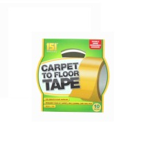 CARPET TO FLOOR TAPE 48MM 10M ADHESIVE STRONG & RELIABLE DOUBLE SIDED