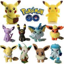Pokemon Pikachu Eevee Squirtle Plush Stuffed Toy