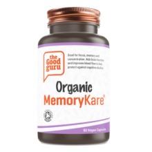 Organic MemoryKare Supplement, No Added Sugar, Gluten-free, NON GMO