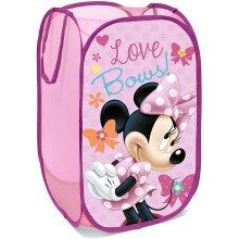 Superdiver Disney Pop-Up Laundry Basket Toy Box Storage Box Clothes Box for Children (Minnie Mouse)