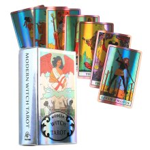 The Modern Witch Tarot Cards Divination Laser Card
