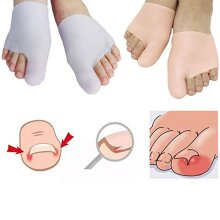 Silicone Metatarsal Pads with Toe Caps