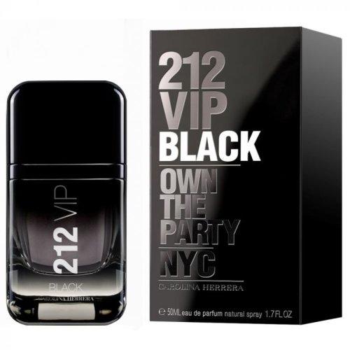 Carolina Herrera 212 Vip Black Eau De Parfum Spray 50ml For Men