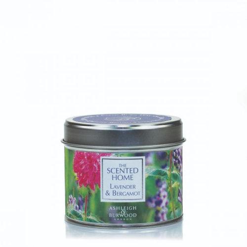 Ashleigh & Burwood Scented Home Tin Candle 165g Lavender & Bergamot