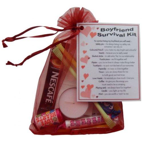 Boyfriend Survival Kit Gift | Boyfriend Keepsake Gift
