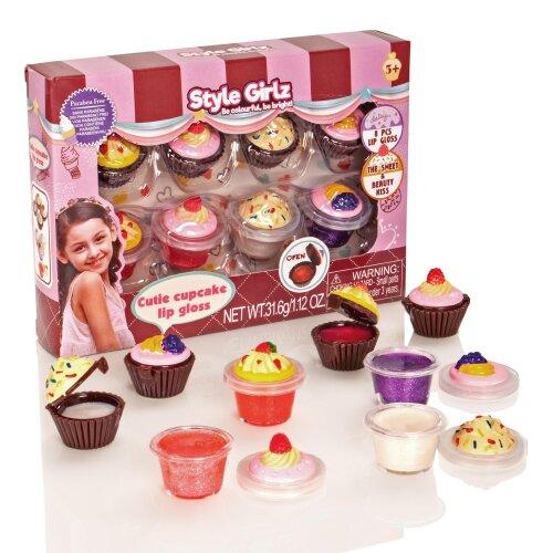 Style Girlz Cutie Cupcake Lipgloss Set