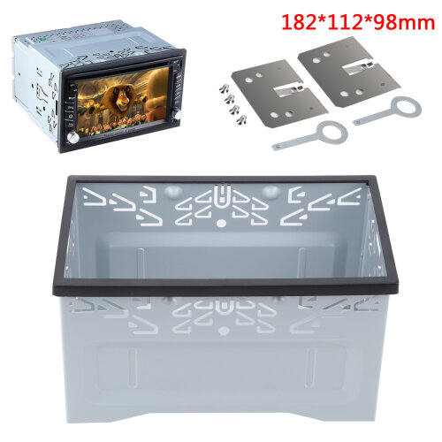Car Stereo DVD Radio Box Mounting Cage Radio Panel Mounting Cage