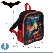 Lego Batman Junior Serious Battitude Backpack
