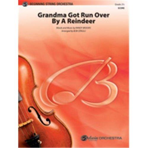 Alfred 00-35912 GRANDMA GOT RUN OVER-PBS