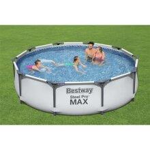 Bestway 10ft Steel Pro Max Garden Frame Pool