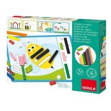 calculation game sticks junior wood/cardboard 57-part