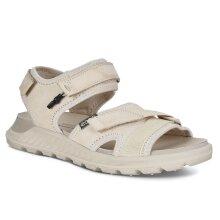 Ecco Womens 2021 Exowrap Fluidform Comfort Stretch Strap Leather Sandals