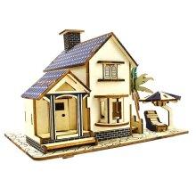 Seaside Villa 3D Wooden Puzzle