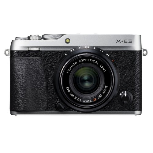 Fujifilm X-E3 with XF 23mm F2.0 lens (Silver)