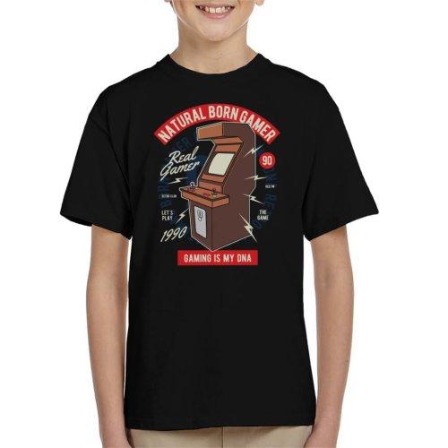 Natural Born Gamer Kid's T-Shirt