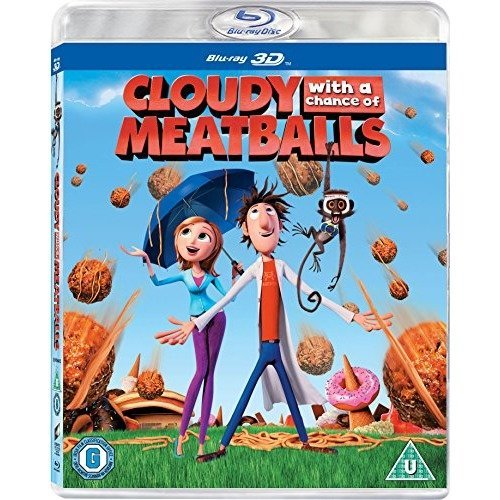 Cloudy With A Chance Of Meatballs 3D Blu-Ray [2010]
