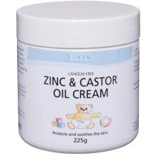 Bells Healthcare Zinc & Castor Oil Cream 225 g