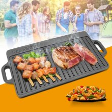 Baking Barbecue Grill Pan Frying Non Stick BBQ Home Griddle Plate