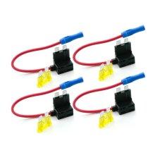 12V Standard Add A Circuit Fuse Box Holders Piggy Back Adaptor Car ATO ATC