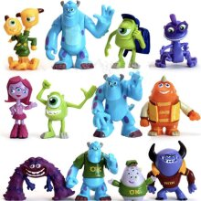 12pcs Monsters, Inc Figure Toy Kids Gift
